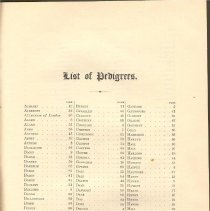 Image of CS 410 H3 Vol. 1 - Genealogical list of persons and families in London and the county of Leicester for the years listed in title.  Includes description of coat of arms for each family.