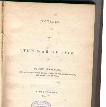 Image of E 354 A73 Vol. 2 - Armstrong's defense of his efforts as Secretary of War during the War of 1812.