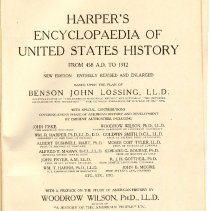 Image of E 174 L92 Vol. 1 - Volume 1 - A to Byrd, alphabetical articles on American history.