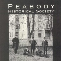 Image of F 74 P35 P43 1997 c.3 - History of Peabody Historical Society