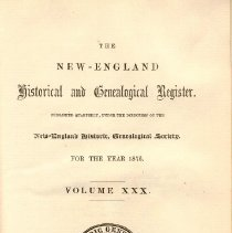 Image of F 1 N56 Vol. 30 - Reports from the Society for the year 1876.