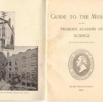 Image of AM 101 S215 P45 1901 - A guide to the Museum of the Peabody Academy of Science (East India Marine Building.) from 1901.