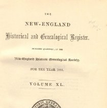 Image of F 1 N56 Vol. 40 - Proceedings for the Society for the Year 1886.