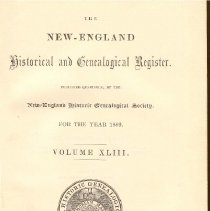 Image of F 1 N56 Vol. 43 - Proceedings for the Society for the Year 1889.