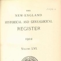Image of F 1 N56 Vol. 56 - Proceedings for the Society for 1902.