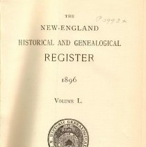 Image of F 1 N56 Vol. 50 - Proceedings for the Society for the Year 1896.
