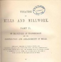 Image of TJ 1040 F2 Vol. 2 - Mills and Millwork, focusing more on mills.