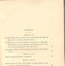 Image of F 72 E7 E81 Vol. 27, c.2 - Proceedings for the Institute for the year 1890. Includes rough subject index for Proceedings, v. 1-6; Bulletin, v. 1-22; Historical Collections, v. 1-27.