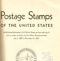 Image of HE 6185 U5 U52 1968 - Year by year illustrated guide to U. S. postage stamps from 1847 to 1967.