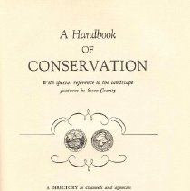 Image of QH 75 S6 - A forerunner to today's conservation movement, this book outlines the problems and what agencies and resources must be used to save both the natural environment and historic buildings.
