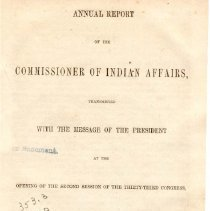 Image of E 93 U72 1854 - Reports from U. S. Commissioners on Indian Affairs from the mid-west to the Pacific.
