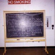 Image of Chalkboard in lower level