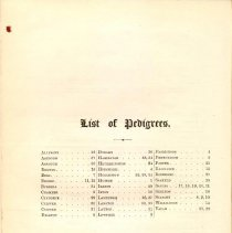 Image of CS 410 H3 Vol. 7 - Genealogical list of persons and families in the county of Cumberland for the years listed in title.  Includes description of coat of arms for each family.