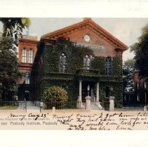 Image of Peabody Institute Postcard -- Blowup