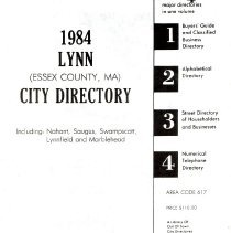 Image of F74.L98 A18 1984 - 1984 Greater Lynn City Directory Including Saugus, Swampscott, Nahant, Lynnfield and Marblehead