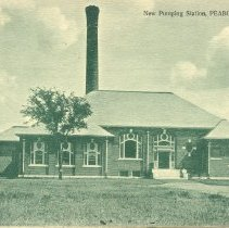 Image of New Pumping Station Postcard