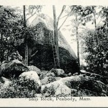 Image of Part 2 of inside of postcard