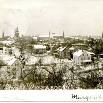 Image of Peabody, Mass., From Methodist Church, 1906. Buxton's Hill and Danvers Insa