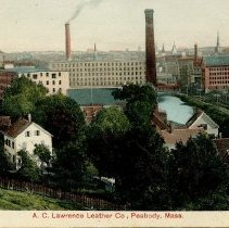 Image of A.C. Lawrence Factory postcard