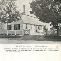 Image of Old Bowditch House postcard