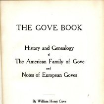 "Image of Title Page for ""The Grove Book"""