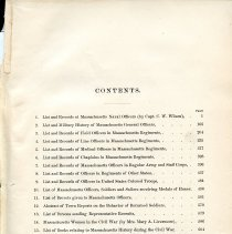 Image of Table of Contents for Vol. II