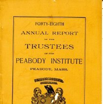 Image of 48th Annual Report by the Library Trustee's