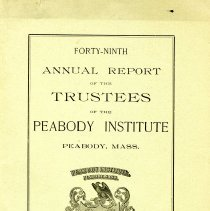 Image of 49th Annual Report by the Library Trustee's