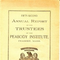 Image of 52nd Annaul Report by the Library Trustee's