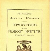 Image of 52nd Annual Report by the Library Trustee's