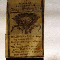Image of Closeup of George Washington Arm Band