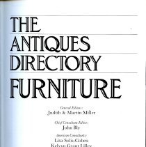 Image of NK2206 .A57 1985 - Book on American and British furniture.
