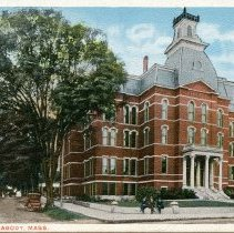 Image of Town Hall postcard