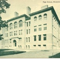 Image of Peabody High School postcard