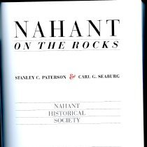 Image of F74 .N13 P37 1991 - A history of the town of Nahant; the smallest town in Massachusetts. The book covers from before the arrival of Europeans through the 1980s. There are many images that are included in the book.