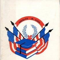 Image of Cover of 1868 Seeglitz Junior High School Yearbook