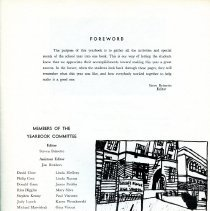 Image of Title Page from 1969 Seeglitz Junior High School Yearbook