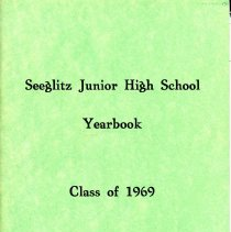 Image of Front Cover for 1969 Seeglitz Junior High School Yearbook
