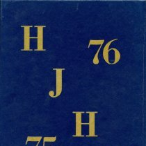 Image of Back Cover of Higgin 1975-1976 Yearbook
