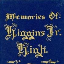 Image of 1976-1977 Higgins Junior High School Yearbook