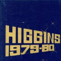 Image of Front Cover for 1979-1980 Higgins Junior High School Yearbook