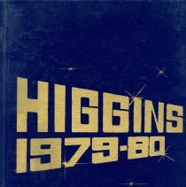 Image of 1979-1980 Higgins Junior High School Cover - Yearbook