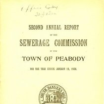 Image of Sewerage Commission Report - 1908