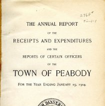 Image of Records of the Town of Peabody