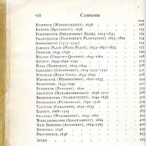 Image of Table of Contents Page 2