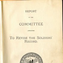 Image of F 74 D2 D32, c.2 - Report on the military history of Danvers, until 1895. Concentrates on Civil War, but also offers records of Revolutionary War, early military organizations from 1600 until 1775.