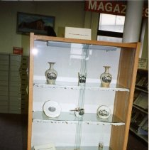Image of Artifacts on Display in the Main Room