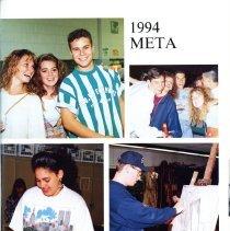 Image of LH 1 .M6 1994 - 1993-1994 Peabody Veterans Memorial High School Yearbook