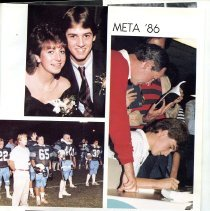 Image of Title page for 1986 Peabody Veterans Memorial High School Yearbook