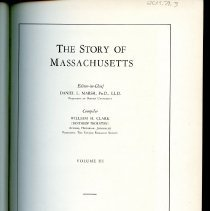 Image of F64 C63 Vol. 3 - The Story of Massachusetts